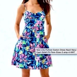 Lilly Pulitzer Easton Fit & Flare Dress